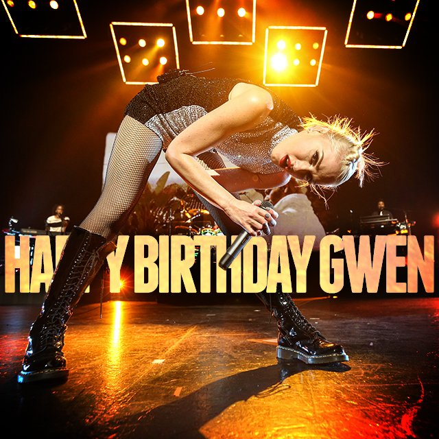 Happy Birthday @gwenstefani! https://t.co/fywFAKnnvQ