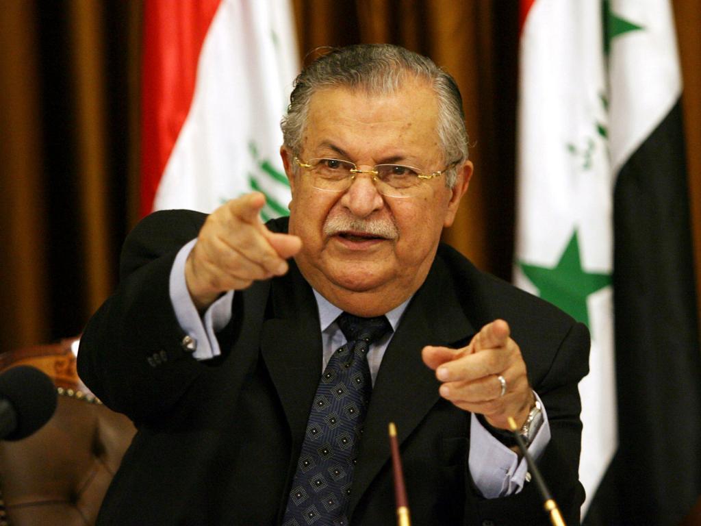 Iraq's first post-Saddam president, Jalal Talabani, has died at 83, Kurdish officials