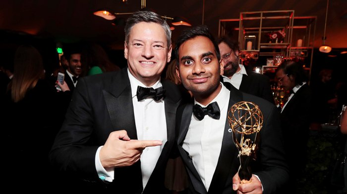 .@Netflix's Ted Sarandos on why @AzizAnsari is the voice of his generation