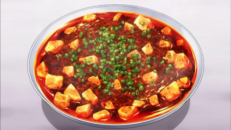麻婆豆腐は正直某ソシャゲで既にお腹いっぱい #shokugeki_anime https://t.co/5P066ra9C2