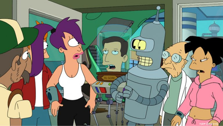 Futurama lands at Syfy in off-network deal