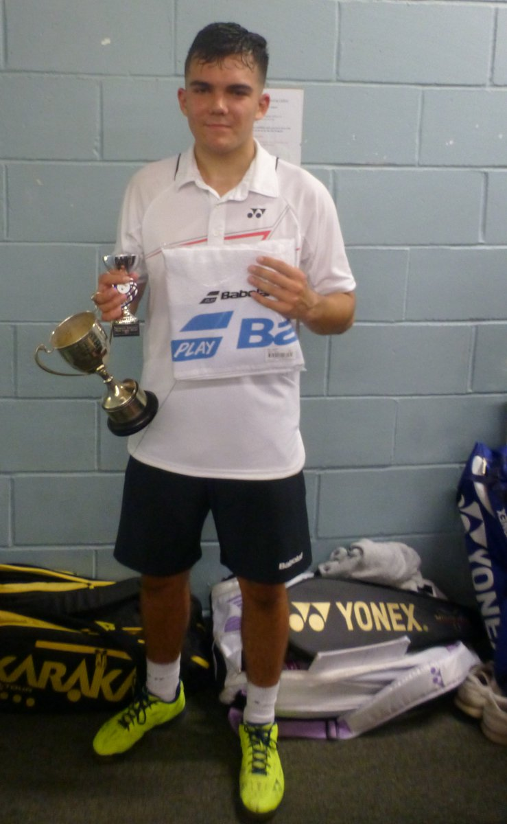 test Twitter Media - Congratulations to Adam Weston who on Saturday became the  Berkshire Senior County Winner 2017 in Badminton. What an achievement! https://t.co/QWAebZPxXD