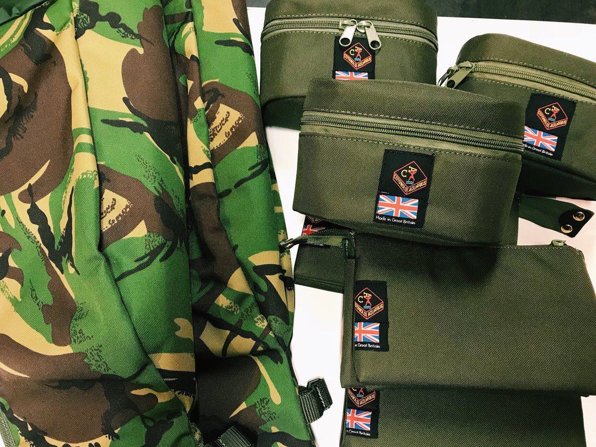 Some new Cotswold Aquarius bits in the tackle shop. Lovely luggage! #carpfishing https://t.co/YncVD5