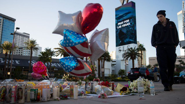 Sheriff says all but three victims of the Las Vegas massacre have been identified https://t.co/S9r4Wm6Hdv https://t.co/QlJWTeLSj7
