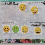 Emoji boards used by Sydney Children's Hospital to interact with teen patients