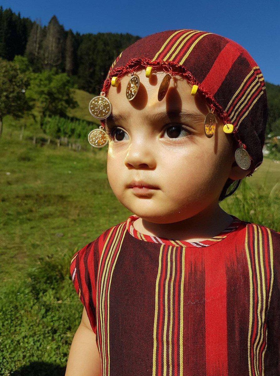What a doll! Huma, 2, sports traditional dress in #Turkey.  @unicefturk https://t.co/ipL7lJuNwS