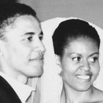 Barack Obama makes Michelle blush with this surprise 25th wedding anniversary message