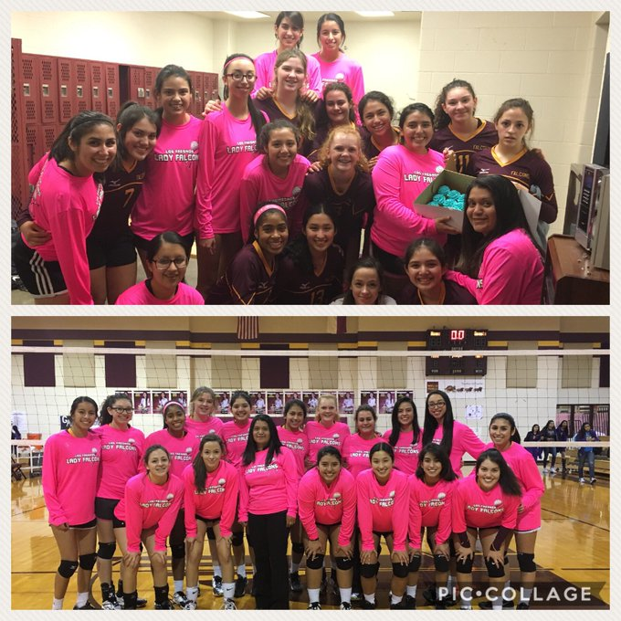 Great win tonight for LF JV dark vb team... And a HAPPY BIRTHDAY to Liz Vasquez    Go Falcons Go! 8-0