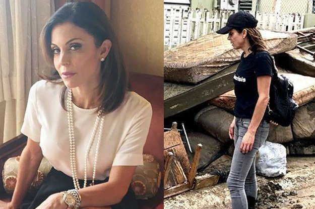 Bethenny Frankel flew to Puerto Rico with four chartered planes full of supplies and EMTs