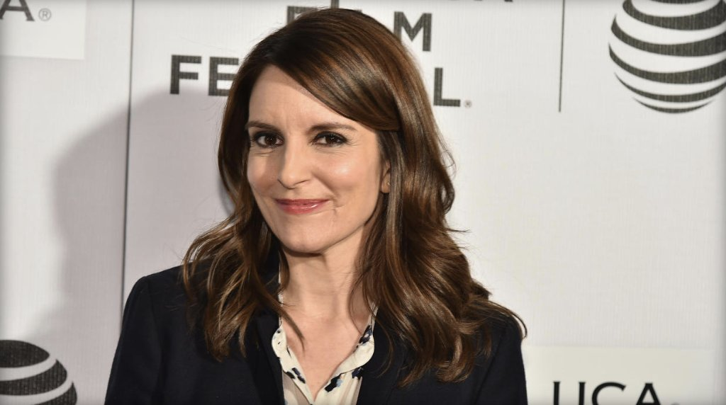 "On ""Mean Girls"" day, Tina Fey passes out free cheese fries in New York City:"
