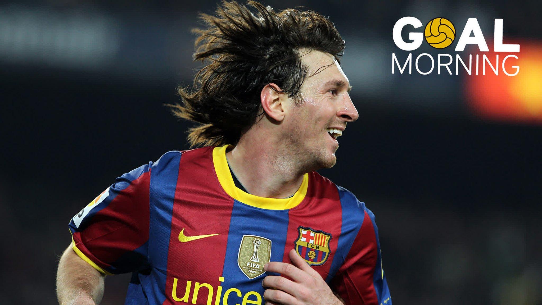 G⚽️AL MORNING!!!  We ❤️ Messi https://t.co/WldBWBOdoP