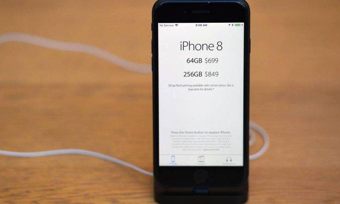 Os novos iPhone 8 devem ser vendidos por até R$ 6 mil no Brasil