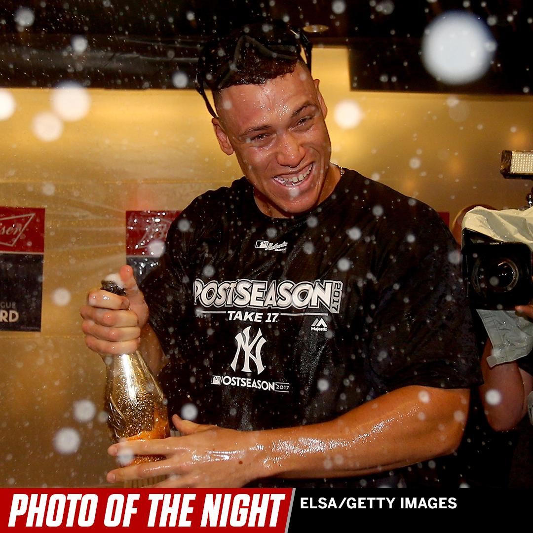 TFW you win your first career playoff game �� #PhotoOfTheNight https://t.co/b7cQiD48Ay