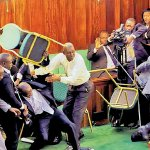 Why is fighting in parliament so common?