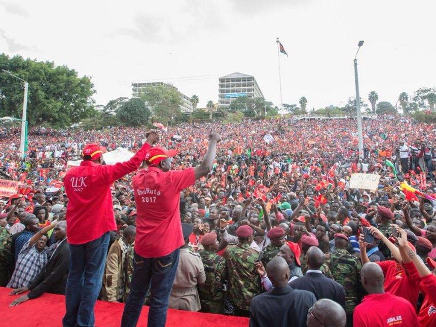 UhuRuto, Jubilee leaders take campaigns to Murang'a