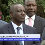 IEBC meets NASA, Jubilee in bid to end stalemate