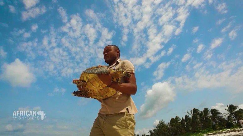 Meet the man saving Kenya's critically endangered sea turtles | @CNNAfrica