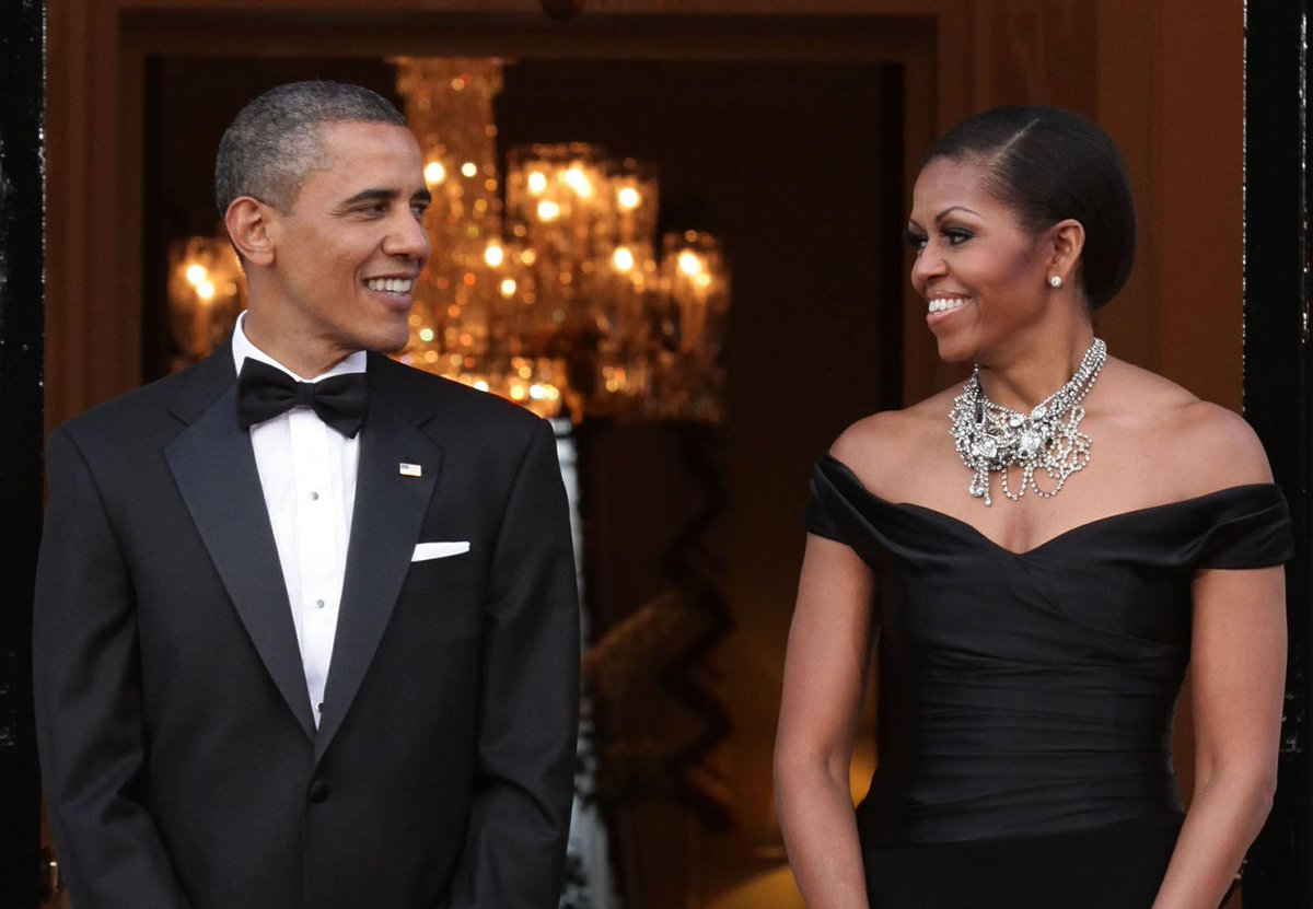 Barack and Michelle Obama send each other sweet messages on their 25th wedding anniversary