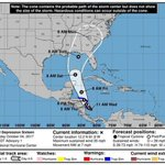 Tropical depression forms; could be Hurricane Nate by the time it reaches Gulf Coast