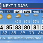 The Weather Authority | Potential Tropical System In The Gulf This Weekend