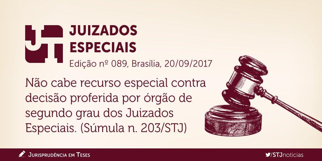 Confira a edição nº 89 do #JurisprudênciaEmTeses, que reúne teses sobre Juizados Especiais.