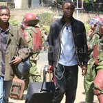 Students cry foul as they go home after the University was closed indefinitely