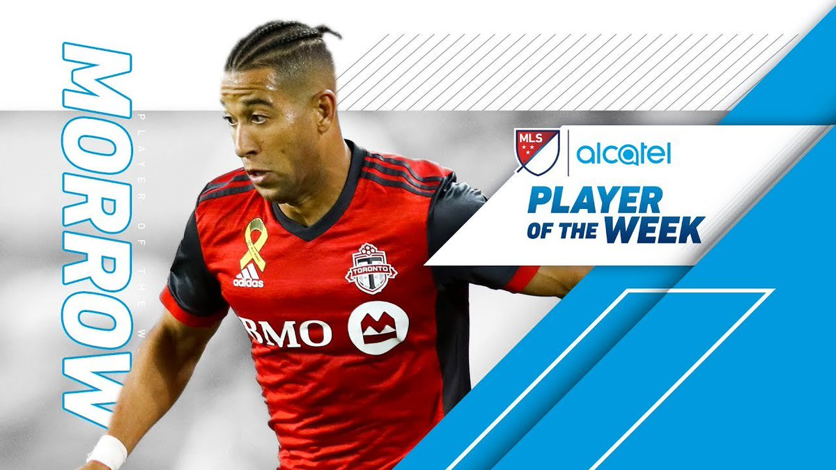 Justin Morrow: Three goals and the shield | Alcatel Player of the Week https://t.co/tnDf1QTrrW https://t.co/hOSlxAsmuD