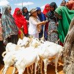First lady campaigns for President Uhuru in Wajir