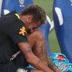 Barcelona's Paulinho crunches Neymar in Brazil training leaving Paris Saint-Germain star temporarily sidelined
