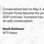 Is traditional conservatism dead?