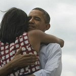 Barack Obama 'interrupts' wife Michelle's event with anniversary video