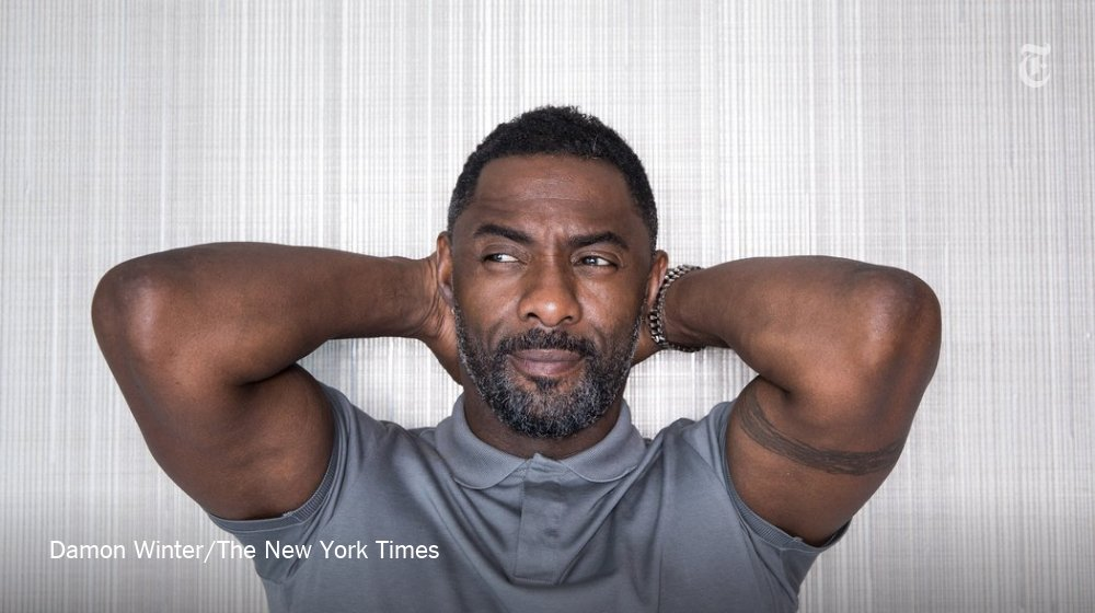 When you talk to Idris Elba, his expressive brown eyes are always on you https://t.co/GyCZHMF3ET https://t.co/jC1xEozGe6