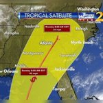 Tropical depression expected to impact Georgia