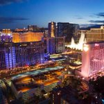 In Las Vegas, attractions and casinos are open but the mood is somber