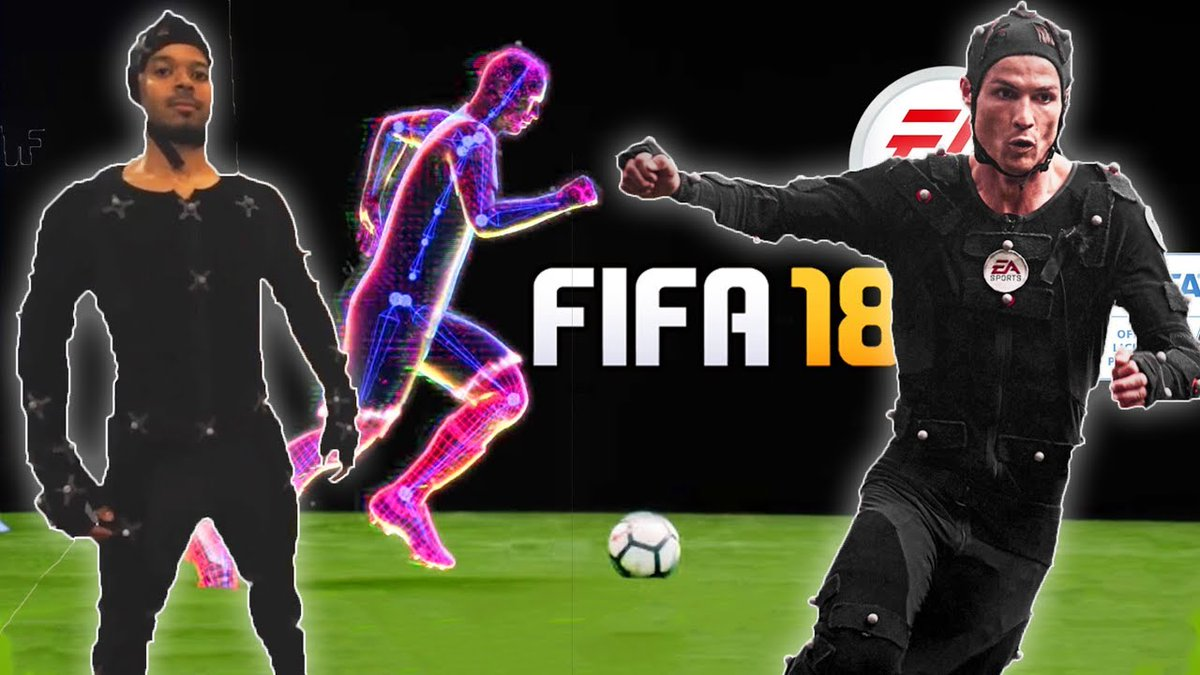 INCREDIBLE | MOTION CAPTURE FOR FIFA 18 ft. DELE ALLI & AKINFENWA https://t.co/5kUU7LDFek https://t.co/pSsMrvP8Td