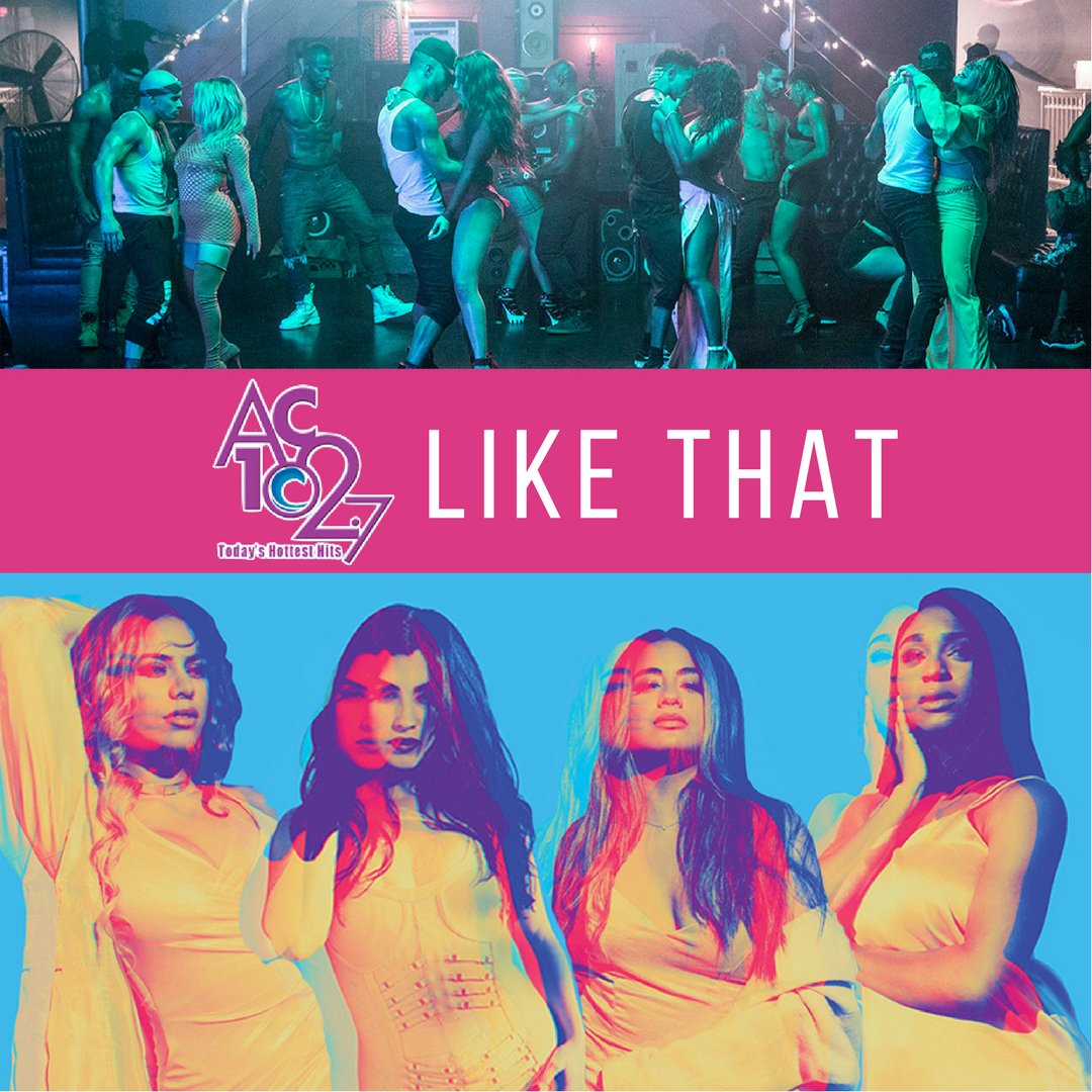 @AC102_7 you're amazing. Thank you so much for adding #HeLikeThat! https://t.co/abVjXXLoix