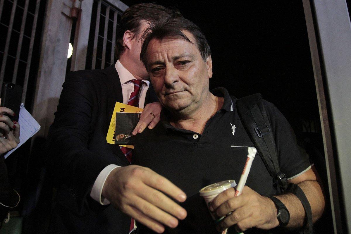 Brazil police detain Italian mass-murder fugitive Battisti at Rome's request as he tries to enter Bolivia