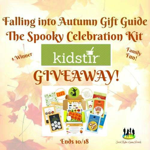 The Spooky Celebration Kit from Kidstir #Giveaway Ends 10/18 -