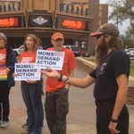 Wichitans protest gun violence following Las Vegas, Lawrence shootings