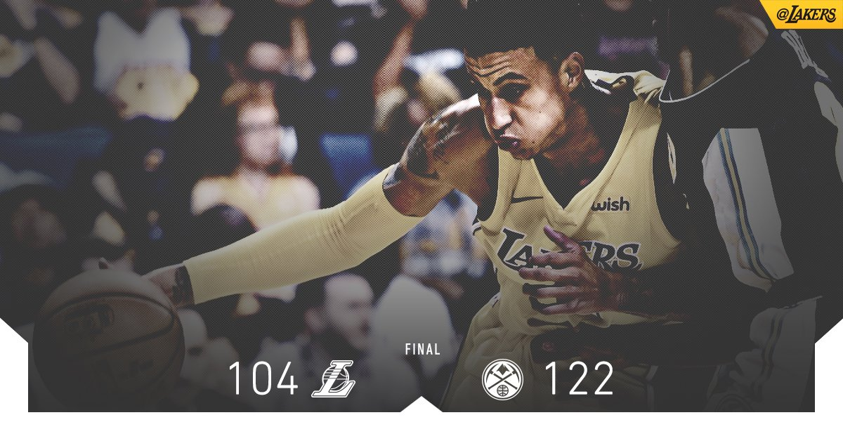 Kyle Kuzma (21 pts, 7-of-9) leads the squad in scoring for the third straight game. https://t.co/qyVYvkd08A