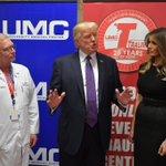 Trump bezoekt slachtoffers schietpartij