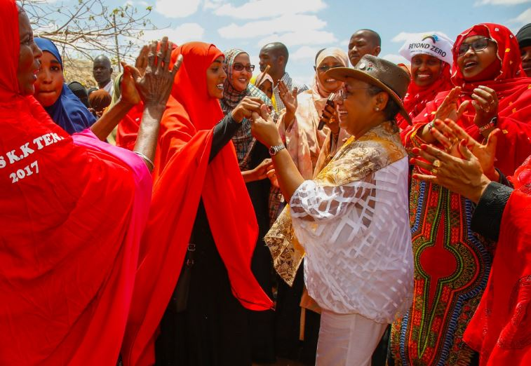First Lady spreads women economic empowerment program to Wajir