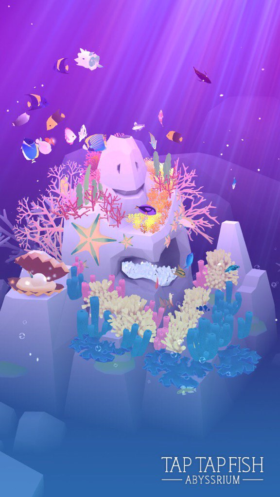 私のAbyssRium:)  #taptapfish Download: https://t.co/xgLD8S9qlX https://t.co/N0ir4LudzU