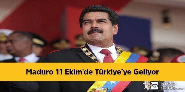Maduro 11 Ekim'de Türkiye'ye Geliyor - Kozmopolitik https://t.co/7rQh3zzpCX https://t.co/zxw80pQdAp