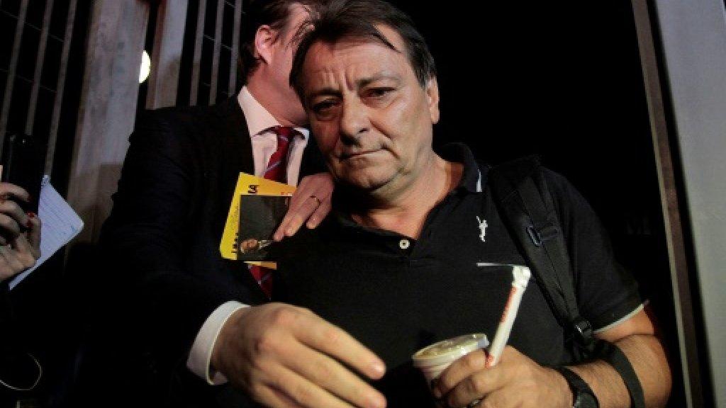 Fugitive Italian ultra-leftist detained in Brazil