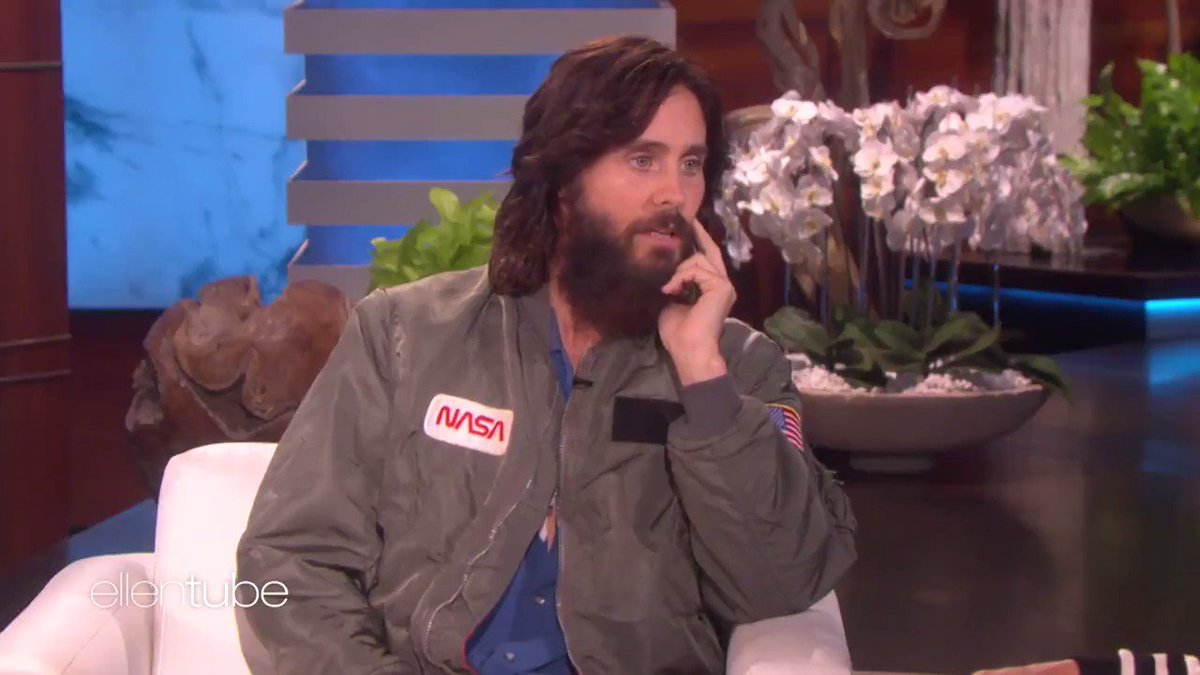 RT @TheEllenShow: I love @JaredLeto. https://t.co/rhc4jjpUXO