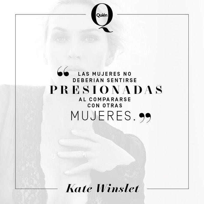 por la protagonista de Titanic, la guapa Kate Winslet. Happy birthday!