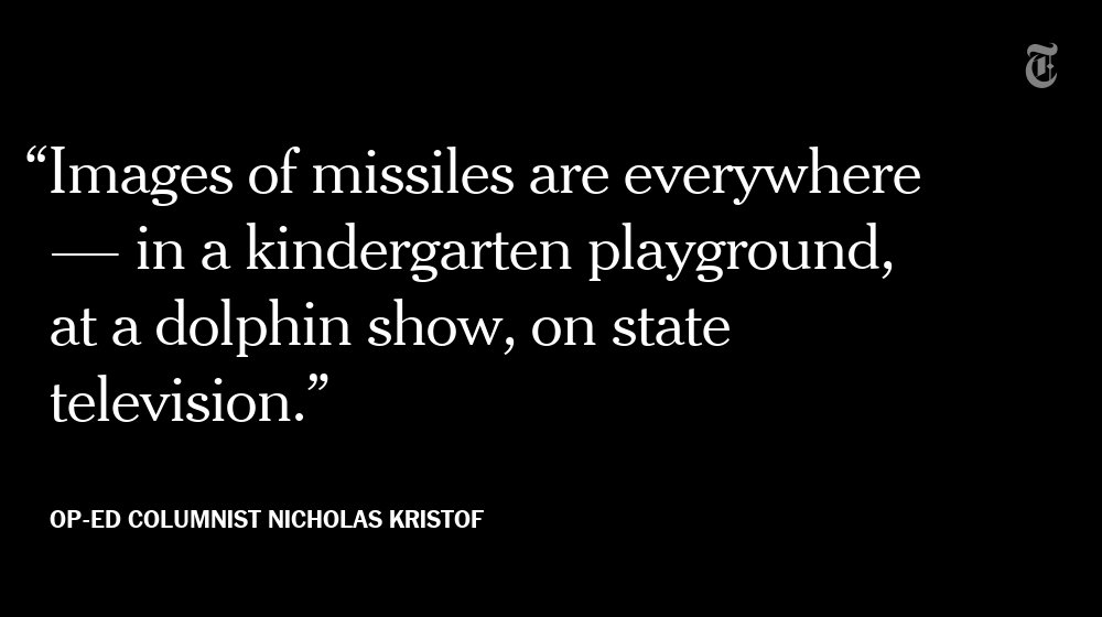 Opinion: Inside North Korea, and feeling the drums of war https://t.co/CThxd0DwXY https://t.co/CD7EJvKfzF