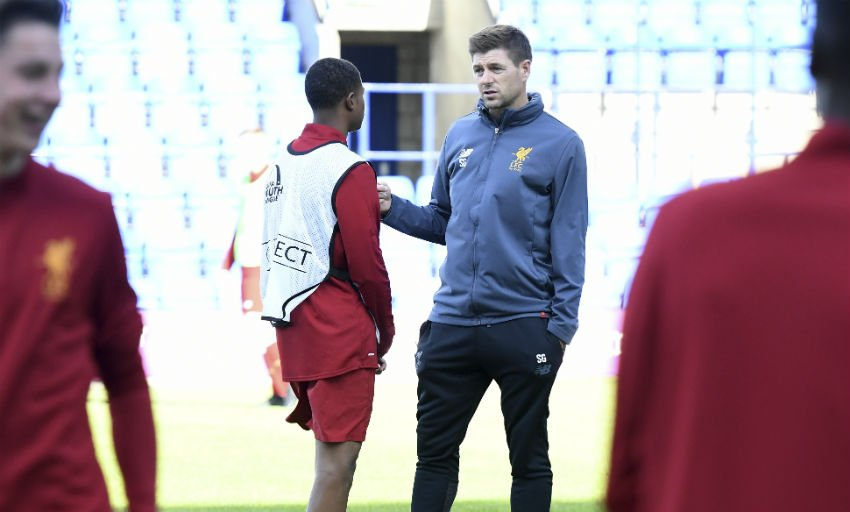 'Gerrard had a chat with me after the Euros...' https://t.co/uSGLHIIXzh #LFC #YNWA #PremierLeague https://t.co/cvGiWivwh2
