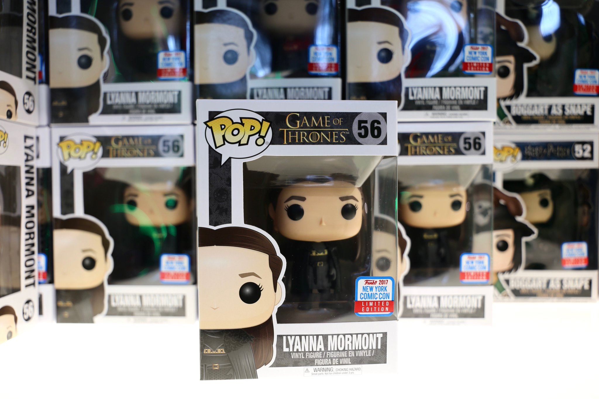 Check out the @OriginalFunko at booth #722 for #GoT exclusives.  #NYCC https://t.co/TGOmyw4gUZ